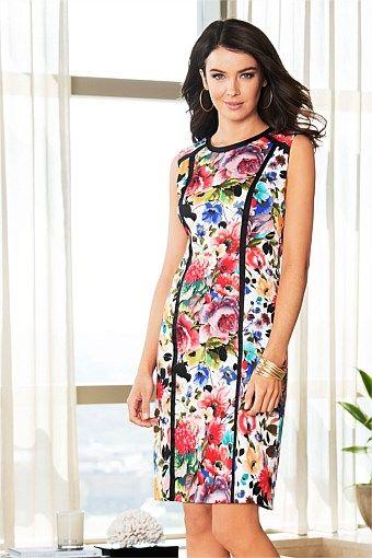 Dresses   Buy Women's Dresses Online - Capture Printed Shift Dress