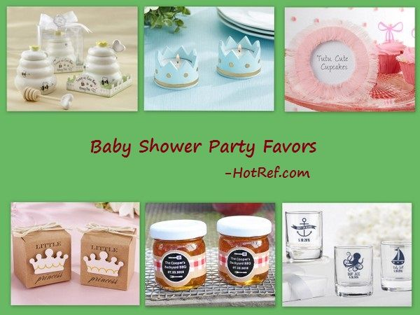 Baby Shower Party Favors from HotRef.com
