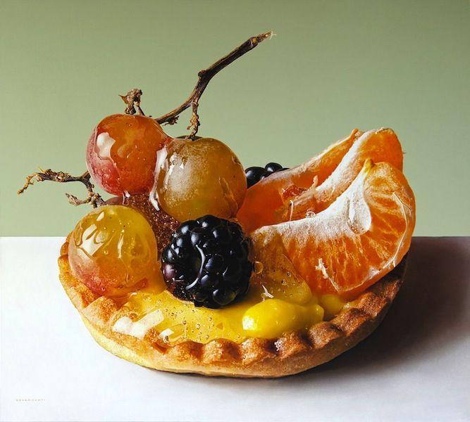 Luigi Benedicenti's Photorealist Paintings of Desserts