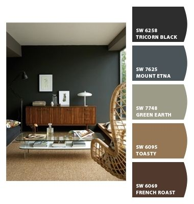 Masculine: Paint colors from Chip It! by Sherwin-Williams ...
