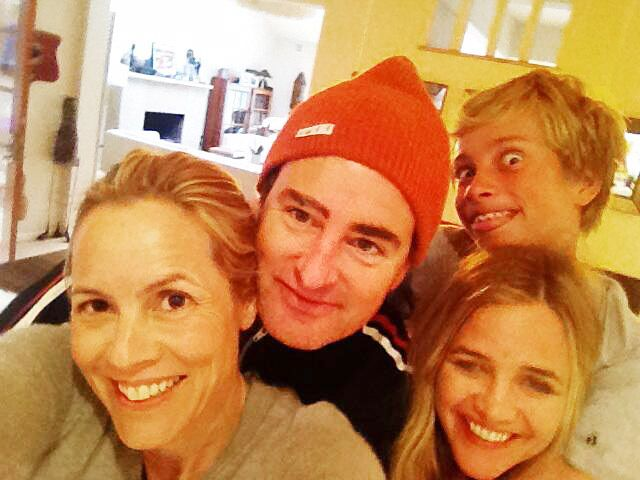 "Maria Bello Shares ""Modern Family"" Picture With Girlfriend Clare Munn and Ex-Boyfriend Dan McDermott After Coming Out as Gay"
