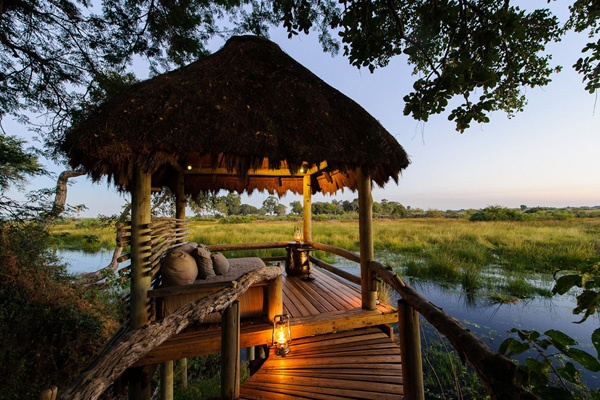 Photographic safaris in the Okavango Delta in Botswana. image: Mombo