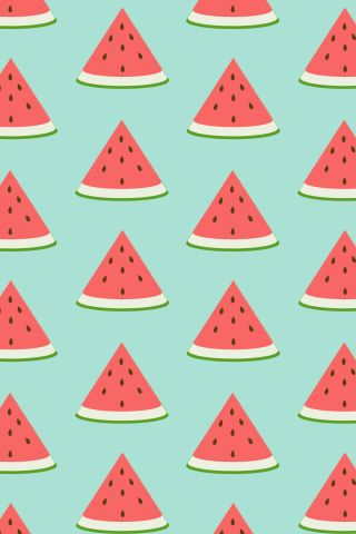 Watermelon Pattern ★ Find more epic #iPhone + #Android #Wallpapers and #Backgrounds at @prettywallpaper