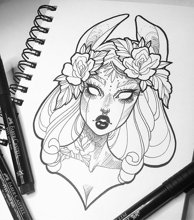 If I drew something like this I wouldn't mind having it as a tattoo