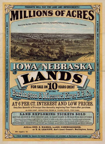 President Abraham Lincoln signed the Homestead Act on May 20, 1862, to spur Western migration. How did a person get 160 acres of one's own? You had to be a U.S. citizen and 21 years of age. By paying a filing fee of $10 and residing on your new farm in the West for at least five years, the land would be yours.