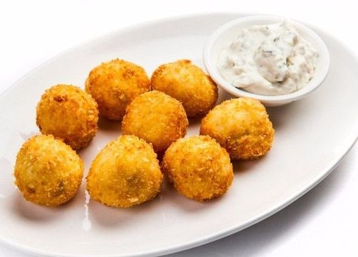 Fried fish balls (Chinese cuisine)   Easy recipes.
