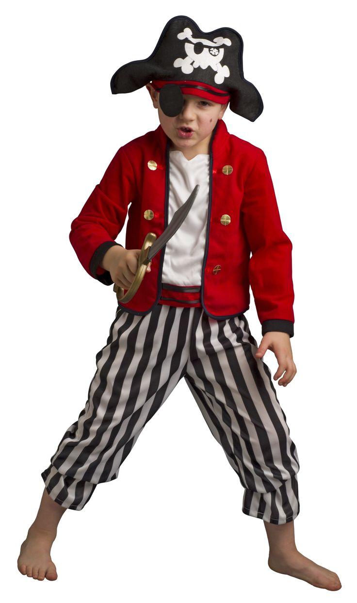 Déguisement Enfant - Pirate Barbe Rousse