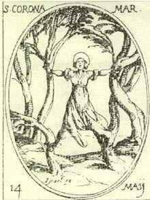 martirio di s.corona