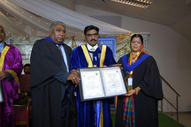 தென்னாப்பிரிக்காவில் SRM பல்கலைக்கழகத் தமிழ்ப்பேராயத்தின் பட்டயமளிப்பு விழா | A2Z EDU