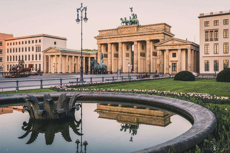 ღღ Berlin, Germany - Brandenburg Gate in Springtime by Marcello Zerletti