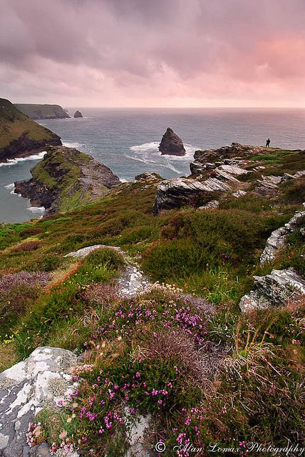 Boscastle, Cornwall by Alan Lomax Photography