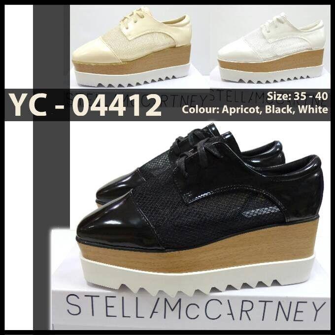 Promo Sepatu Stella McCartney Wedges YC-04412 Hitam 36,37,38,39 Apricot 36 330rb