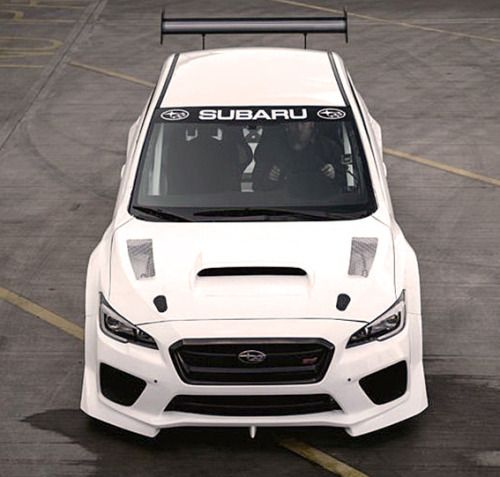 http://chicerman.com  carsthatnevermadeit:  Prodrive Subaru WRX STI 2016. Arevised version of the current WRX STI built specially to tackle the Isle of Man TT course has been revealed. The car will be used in an attempt to better the record lap time set byBritish rally champion Mark Higgins in 2014 in a WRX STi of19 minutes and 15 seconds for the 37 mile course  #cars