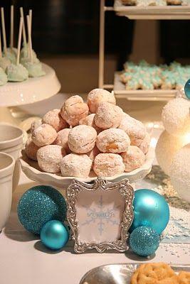 Decoración cumpleaños Disney Frozen: Cocoa Party, Wonderland Cocoa, Creative Outlets, Winter Party, Party Idea, Christmas Ornaments, Frozen Birthday, Winter Wonderland Party, Birthday Party