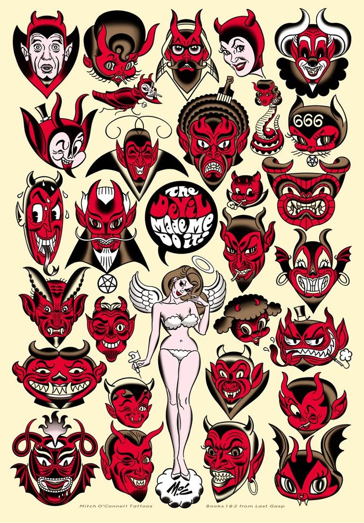The Devil Made Me Do It! by Mitch O'Connell