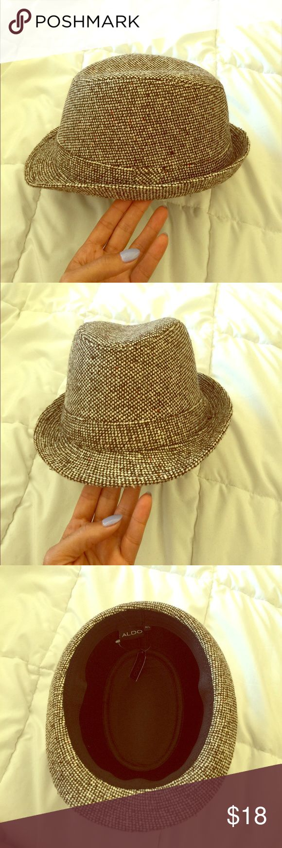 Hat A brown  and cream hat unused Aldo Accessories Hats