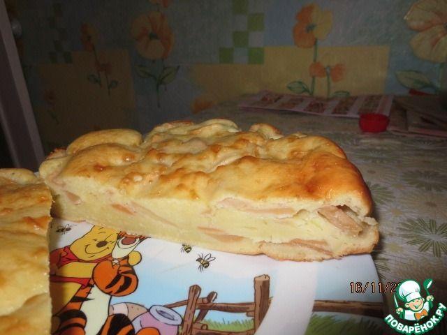Яблочный пирог на сметане ингредиенты