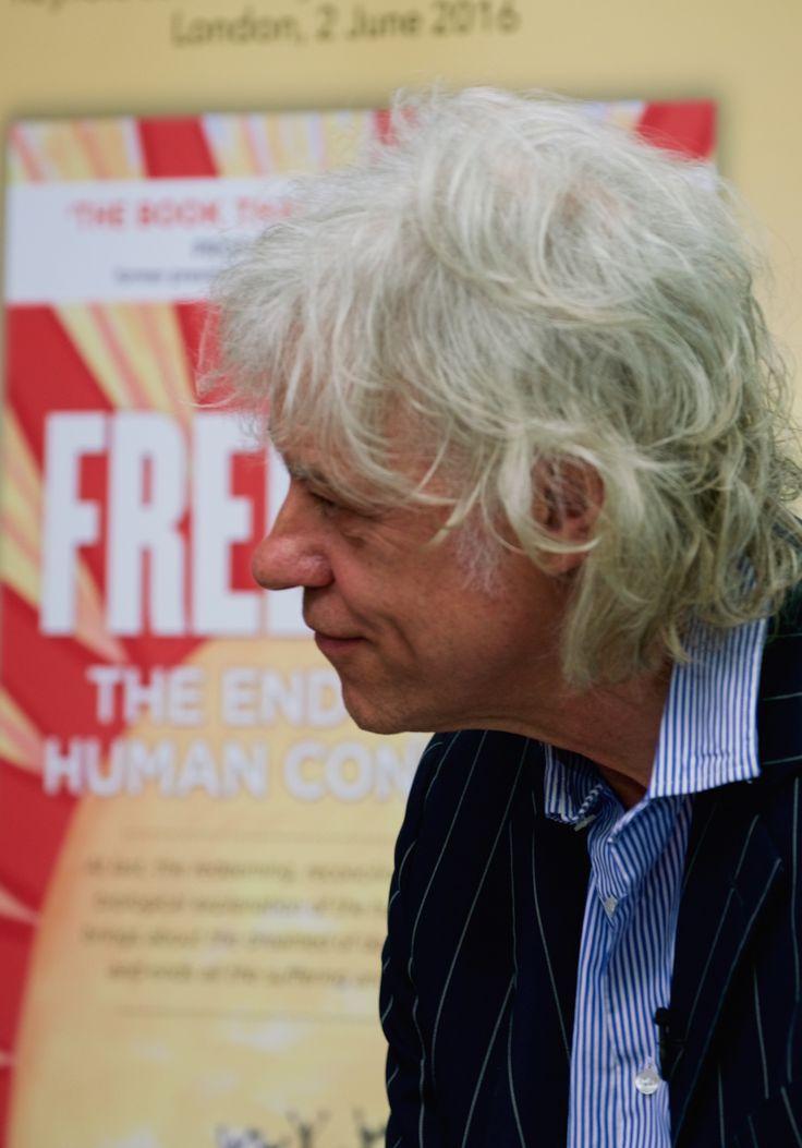 #FREEDOM LAUNCH! #Geldof  #JeremyGriffith #Breakthrough  What a monumental day! #SirBobGeldof #BookLaunch #RGS