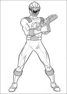 Imagens para pintar dos Power Rangers - 68