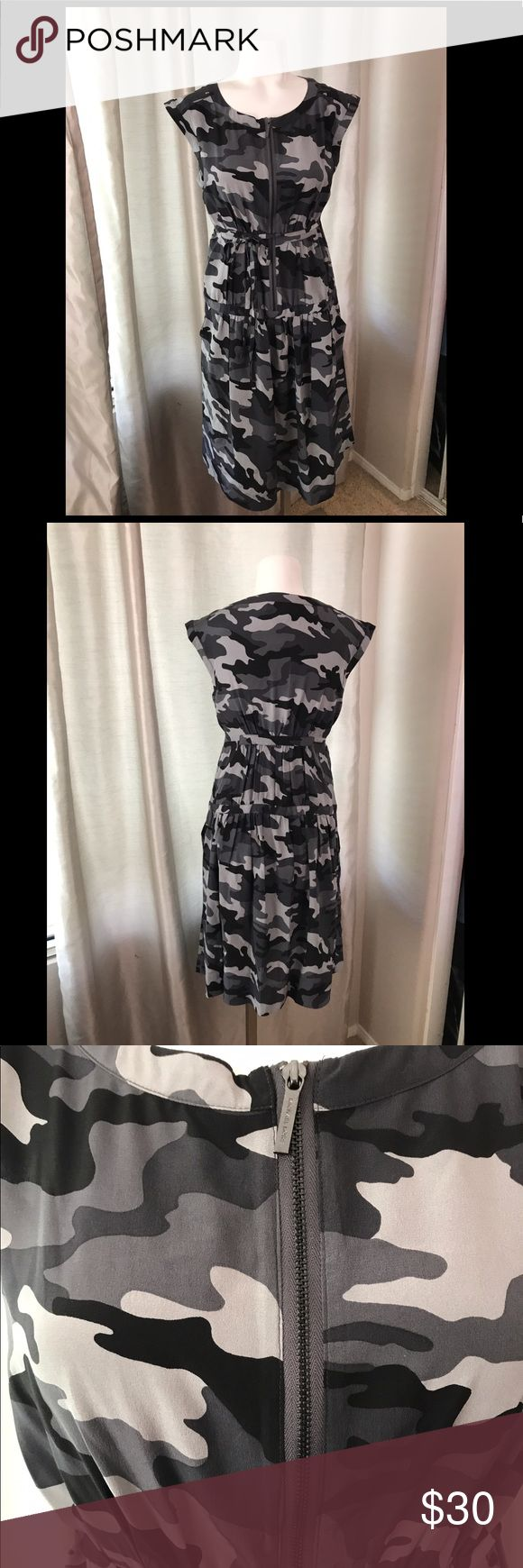Michael Kors Dress Great condition. Camo design KORS Michael Kors Dresses Midi