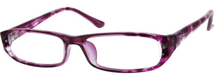 Order online, women's purple full rim acetate/plastic rectangle eyeglass frames model #279517. Visit Zenni Optical today to browse our collection of glasses and sunglasses.