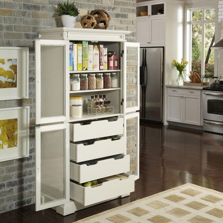 Home Styles Americana Kitchen Pantry & Reviews | Wayfair