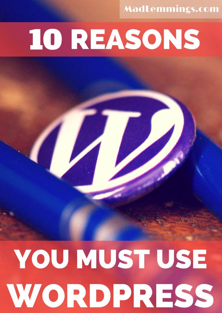 If you are wondering why you should use WordPress, then take a look at this. Here are 10 reasons you must use WordPress for your website. #socialmedia