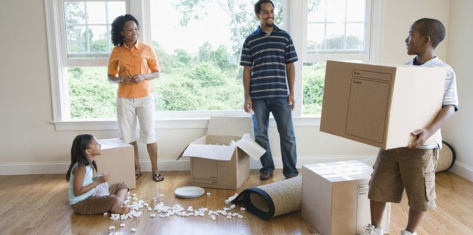 The ultimate moving guide with a change-of-address checklist, week-by-week moving timeline, home inventory checklist, printable moving labels, etc.