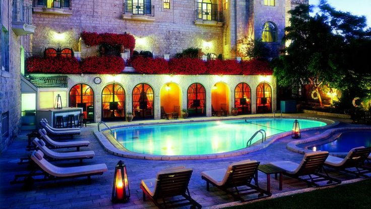 The American Colony Hotel set in the heart of the Holy Land in Jerusalem