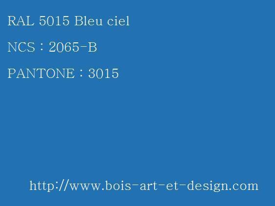 ral 5015 bleu 564 423 codes ral codes ncs codes pantone 207 r f rences couleurs. Black Bedroom Furniture Sets. Home Design Ideas
