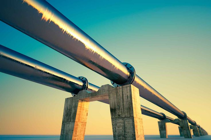 Natural gas pipeline. iStock