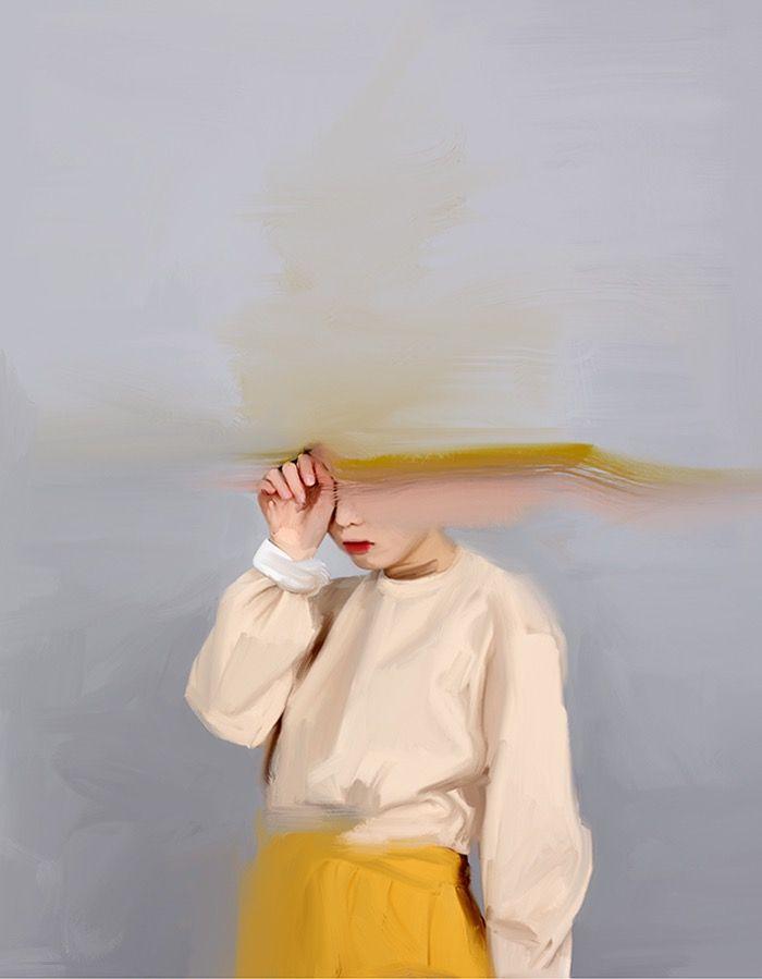 'Girl with the yellow skirt' print – Nap Amazing
