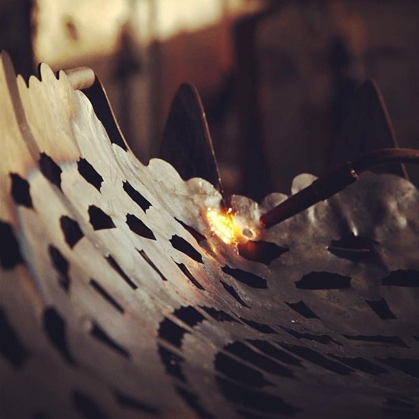 J+I (6 Designer Giapponesi + grandi Artigiani italiani)  work in progress at Sampietro 1927 #SarpiBridge #MilanDesignWeek2013 #design #handicraft #fuorisalone