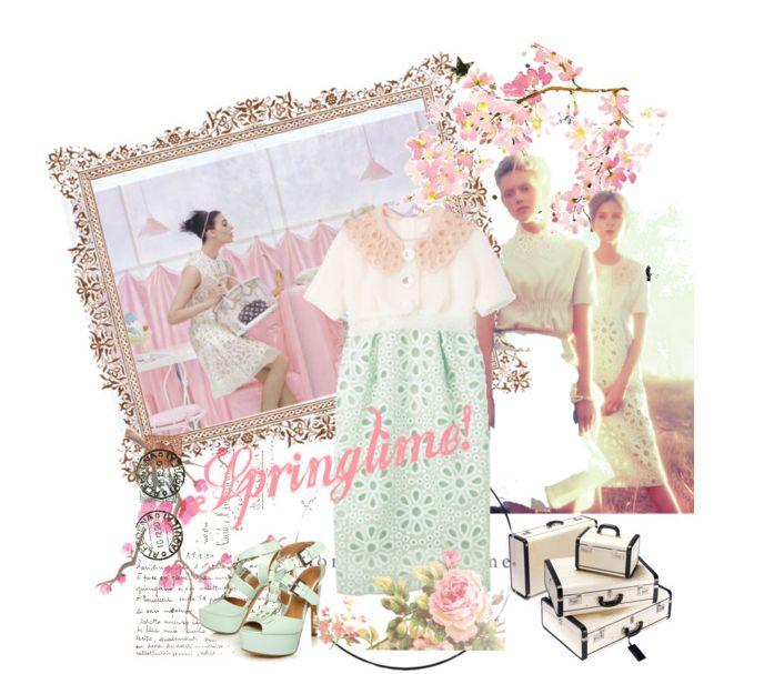 Louis Vuitton spring/summer fashion moodboard