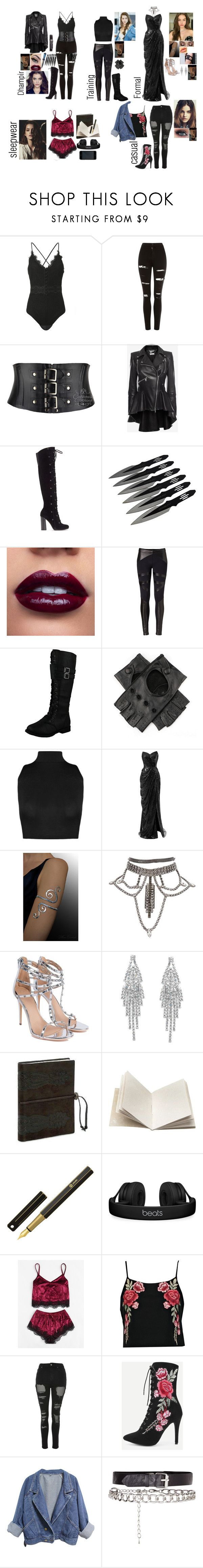"""""""Vampire Academy OC : Astoria 'Tori ' Augustine"""" by silentdoll ❤ liked on Polyvore featuring Jonathan Simkhai, Topshop, Alexander McQueen, Vince Camuto, David Lerner, Black, WearAll, Rune NYC, Humble Chic and Cullen"""