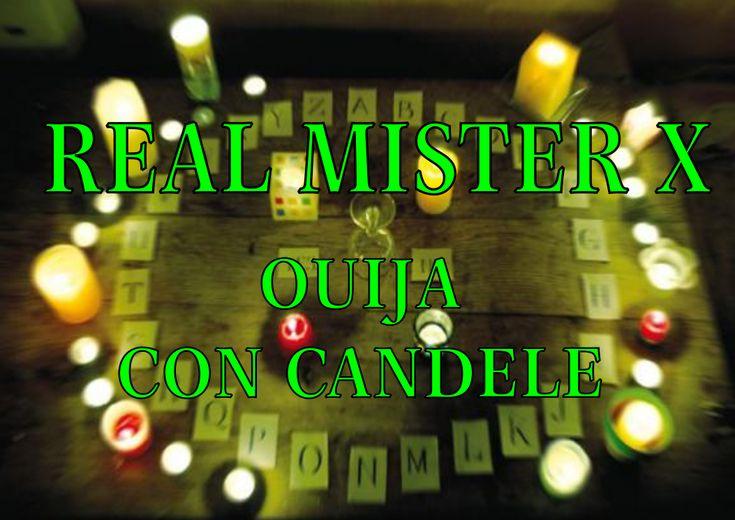 Esperimento paranormale: Ouija con candele