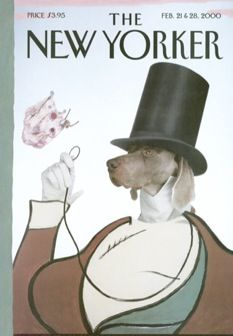 wegman, westminster, and weimaraners: The New Yorker, Wegman Weim, February 21, William Wegman, Williams Wegman, Magazines, Grey Ghosts, Martha Stewart, Yorker Covers