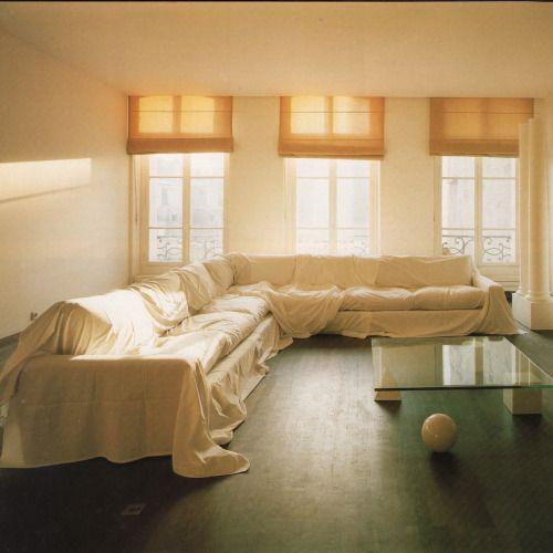 Inspiration: André Putman, Yves Lambert Flat, Paris.