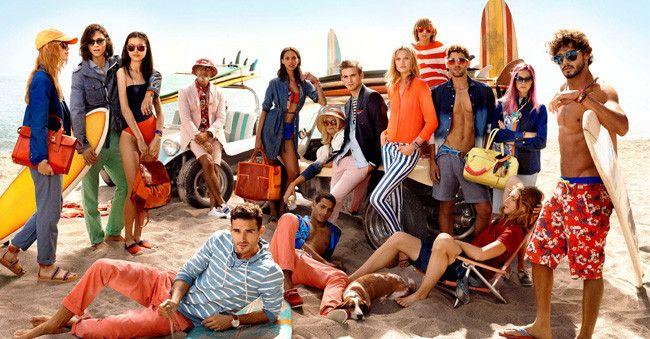 Tommy Hilfiger Spring/Summer 2014 Campaign