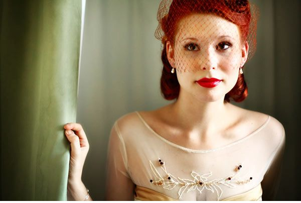 Adorable: Red Hair, 1940 S Hairstyles, Redhead, Bride Hairstyles, Wedding Hairstyles