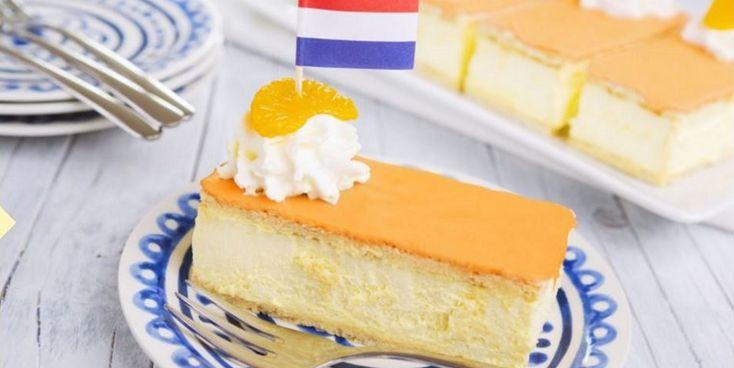 Als je aan Koningsdag denkt, denk je aan... oranje tompoezen. Wij in elk geval wel! Met dit recept kun je de keuken in.