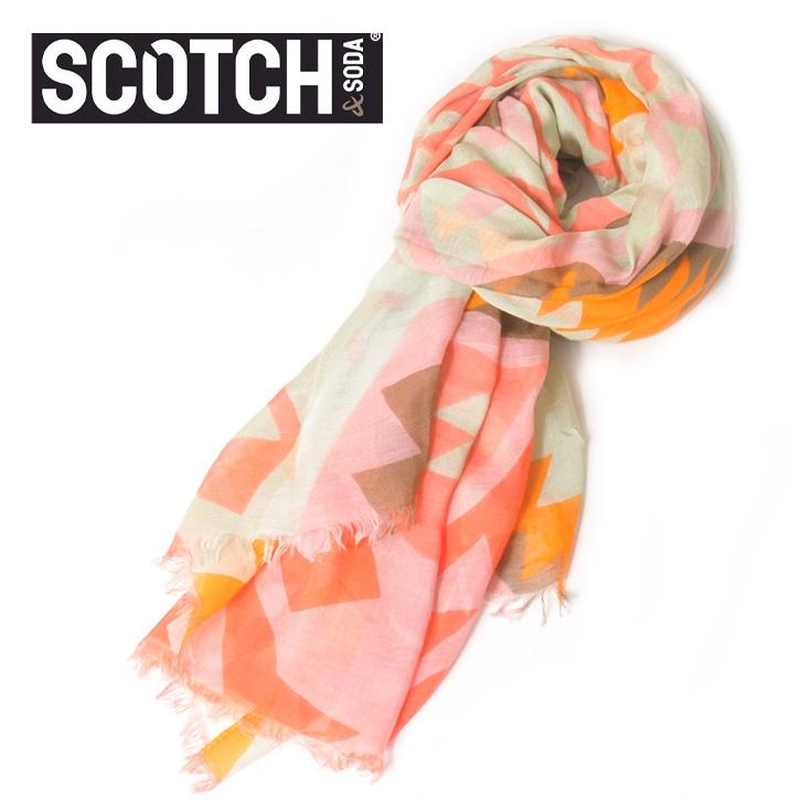 SCOTCH(スコッチアンドソーダ) ストール マルチカラー SC70016-31 Col.E ssm-sc-006