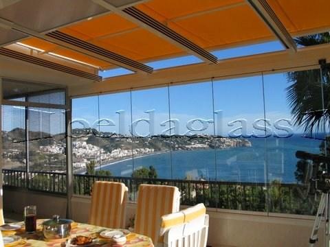 Mejores 10 im genes de cerramientos de terraza en for Cortinas para terrazas acristaladas