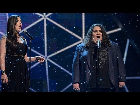 Incredible teenagers!!!  Jonathan and Charlotte - Britain's Got Talent 2012 Live Semi Final - UK version