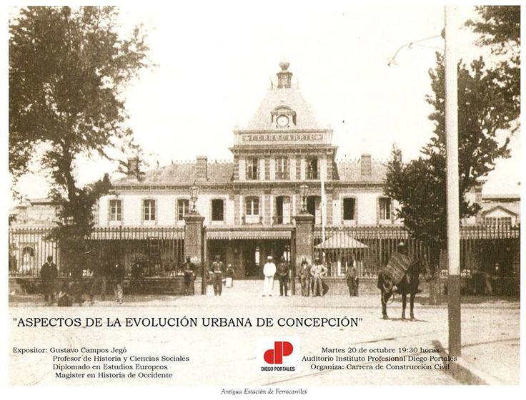 Antigua estación de trenes de Concepción