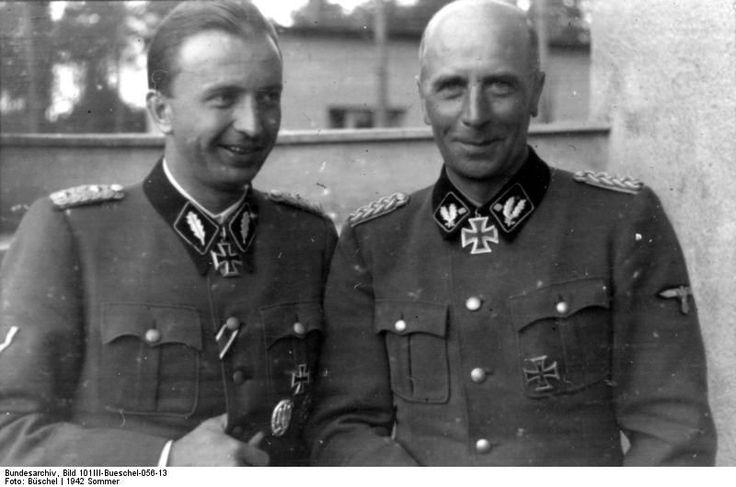 Hermann Fegelein and Wilhelm Bittrich