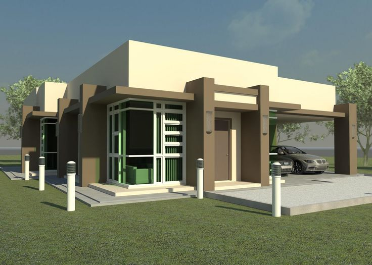 Small modern house plans one floor