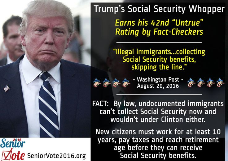 Another Trump Whopper – This One on Social Security
