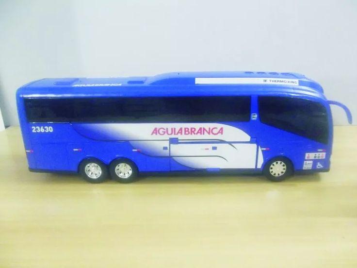 miniatura ônibus rodoviário águia branca todas empresas