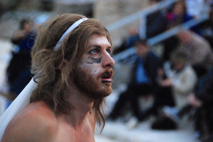 SIRACUSA - Sicily- RAPPRESENTAZIONI CLASSICHE 2012 - LE BACCANTI